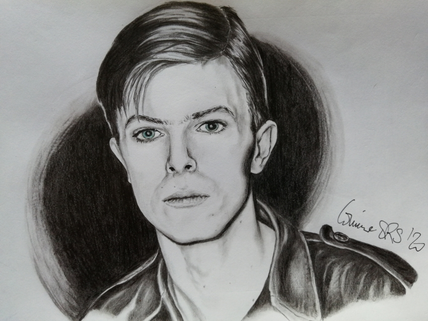David Bowie por RipleyAuriga